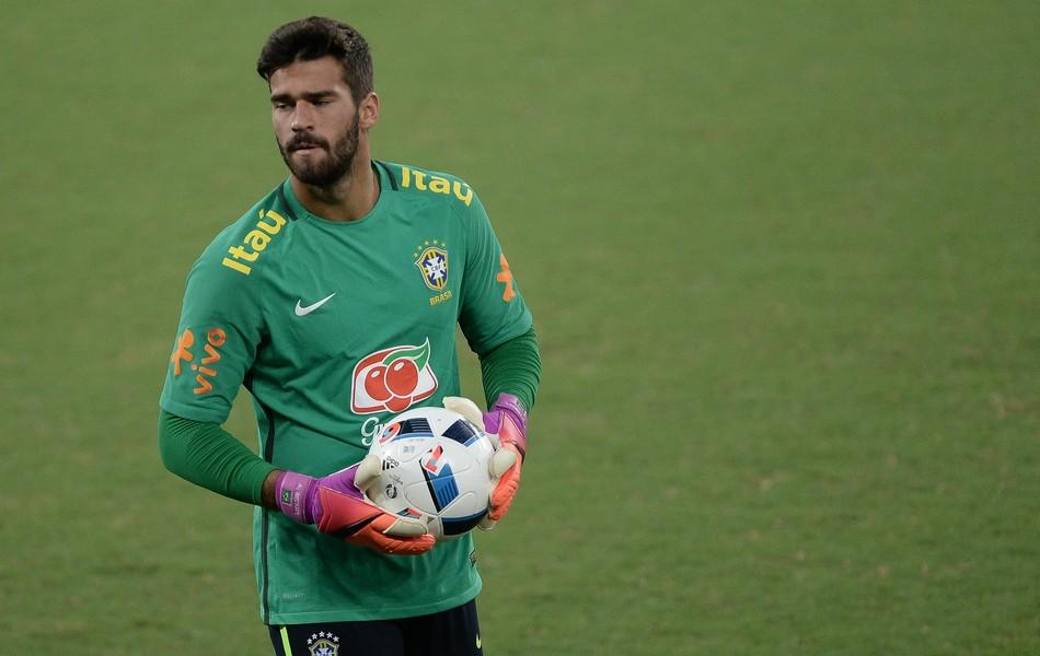 Alisson goleiro seleção brasileira
