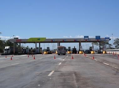infraestrutura-pedagio-br163-mt (Foto: Divulgação/Rota do Oeste)