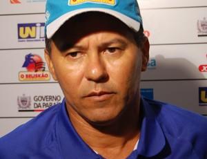 Ramiro Sousa, técnico do CSP (Foto: Larissa Keren / Globoesporte.com/pb)
