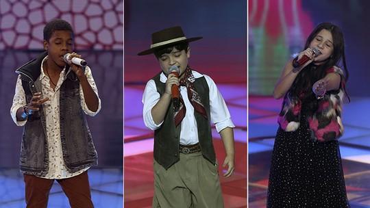 Público e técnicos definem finalistas do 'The Voice Kids'