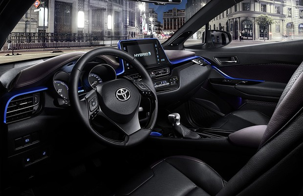 Novo Toyota C-HR (Foto: Divulgação)