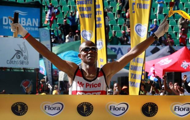 Maratona Comrades corrida África do Sul (Foto: AFP)
