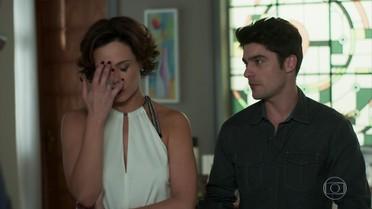 Ana se preocupa com a situação de Rodrigo