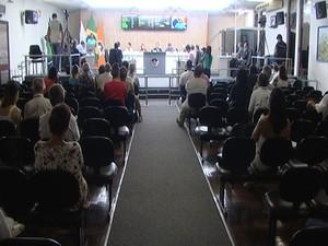 Audiência pública realizada em Divinópolis (Foto: Reprodução/TV Integração)