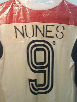 camisa nunes Museu Flamengo (Foto: Fred Huber / Globoesporte.com)