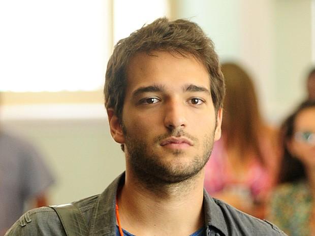Davi assume o lugar de Herval e dá aula para a criançada (Foto: João Cotta / TV Globo)