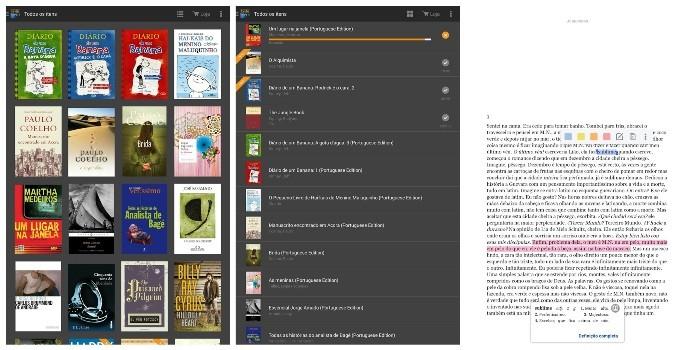 Com o Kindle, o usuário tem acesso a todos os títulos disponíveis na Amazon (Foto: Divulgação)