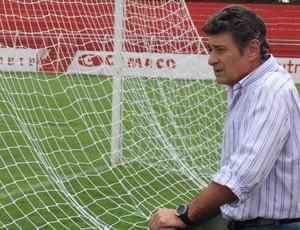 Darío Pereyra, técnico do Vila Nova (Foto: Fernando Vasconcelos)
