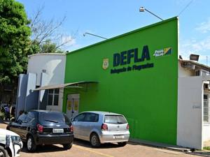 Suspeitas foram encaminhadas à Delegacia de Flagrantes da capital (Foto: Aline Nascimento/G1)