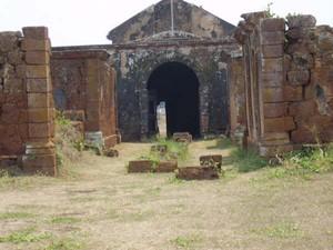 Entrada do Forte Príncipe da Beira, em RO (Foto: Emanuel Alencar/Arquivo Pessoal)
