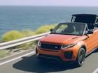Range Rover Evoque conversível é revelado por completo; veja