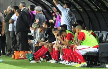 """Muricy mostra preocupação com o  Inter no Brasileiro: """"Sente bastante"""""""