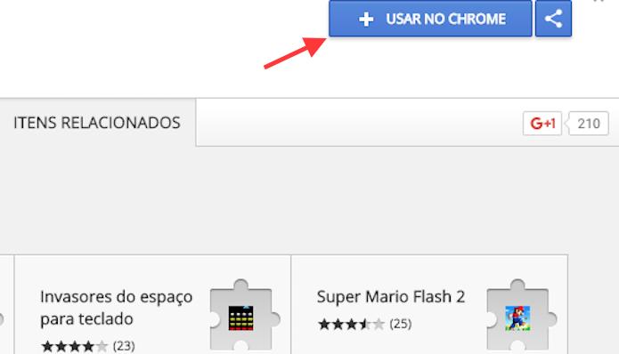 Opção para preparar o download da extensão Super Netflix para Google Chrome (Foto: Reprodução/Marvin Costa)