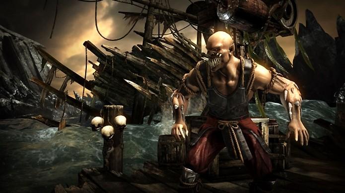 Clássico lutador Baraka surge com novo visual levemente diferente em Mortal Kombat X (Foto: Reprodução/Junkie Monkeys)