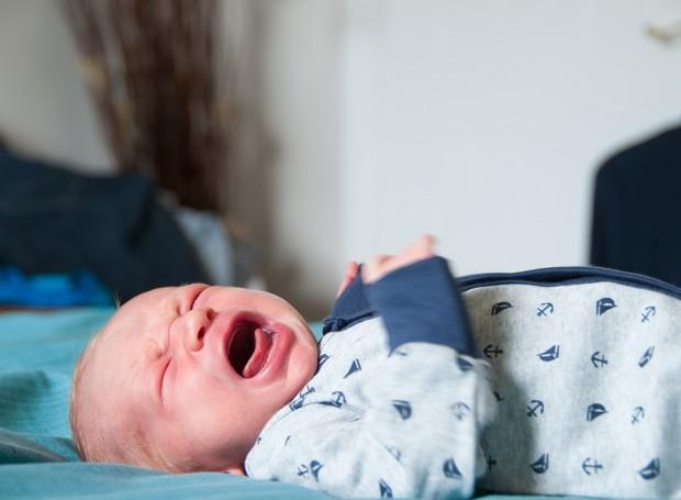 O choro é a primeira forma de comunicação (Foto: Thinkstock)