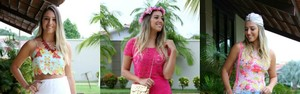 Blogueiras dão dicas de looks para curtir carnaval na moda, em Manaus (Jamile Alves/G1 AM)