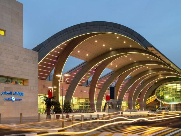 Aeroporto de Dubai (Foto: Divulgação/Aeroporto de Dubai)