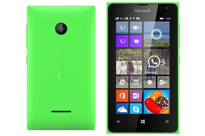 Lumia 532 conta com variação dual-sim (Foto: Divulgação)