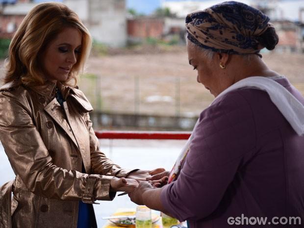 O que será que o futuro guarda para Pamela Parker-Marra? (Foto: Raphael Dias/TV Globo)