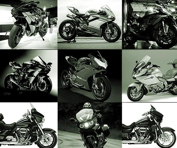 Motos mais vendidas do Brasil (Foto: Divulgação)