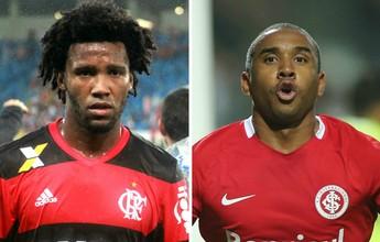 Flamengo e Internacional chegam ao ES nesta terça para jogo do Brasileirão