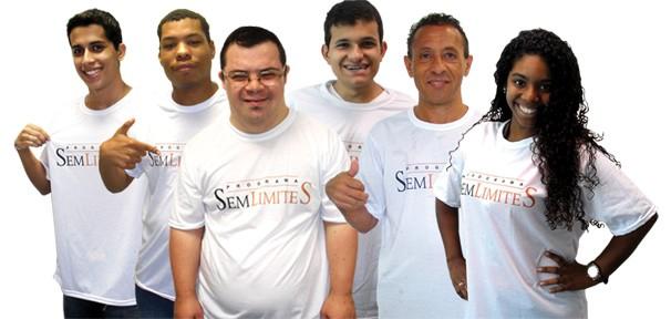 Integrantes do programa 'Sem Limites' contam com pessoas com deficiência e jovens entre 14 e 24 anos  (Foto: Divulgação Rede Globo)