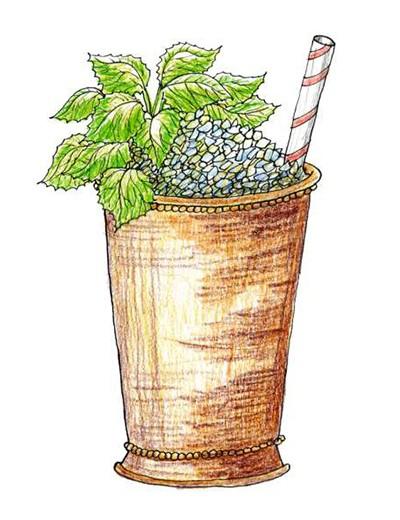 Mint Julep (Foto: Ilustrações Daniel Almeida)