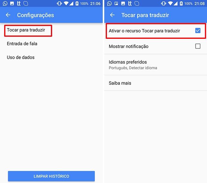 Google Tradutor passará a oferecer tradução em qualquer janela (Foto: Reprodução/Elson de Souza)
