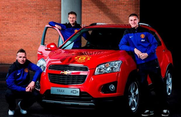 Manchester United estreia camisa com patrocínio da Chevrolet (Foto: Divulgação )