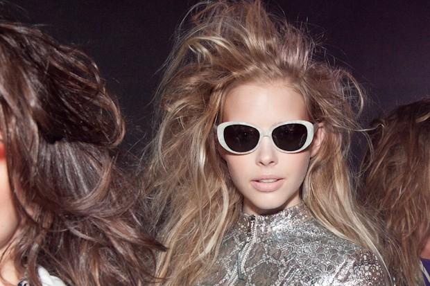 O óculos que saíram da parceria entre Patricia Viera e a Lema 21 para o verão 2015 (Foto: César França)