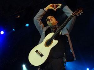 Jorge Vercillo (Foto: Gabriela Alcântara / G1 PE)