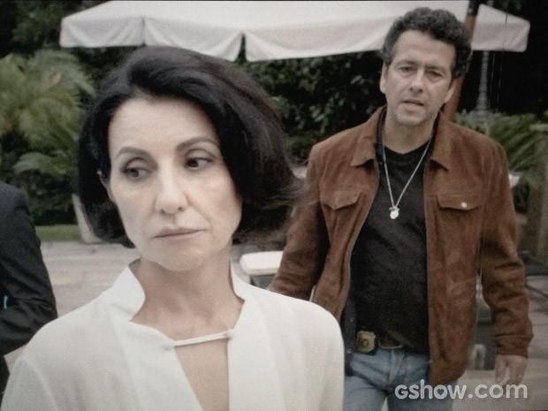 Gilda e Pedroso (Foto: O Rebu / TV Globo)