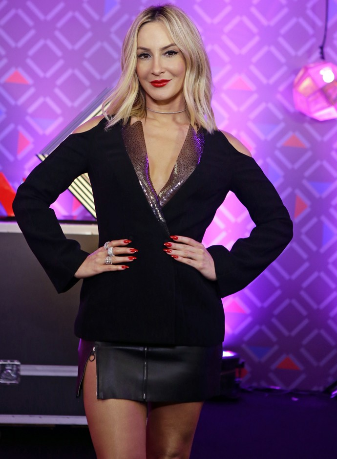 Claudia Leitte na Semifinal do 'The Voice' (Foto: Artur Meninea/Gshow)