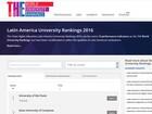 Unicamp é a segunda melhor da América Latina, diz ranking britânico