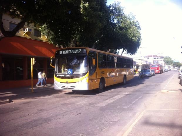 A Empresa Valadarense de Transporte Coletivo informou que só se manifestará quando for notificada. (Foto: Maria Freitas/ G1)