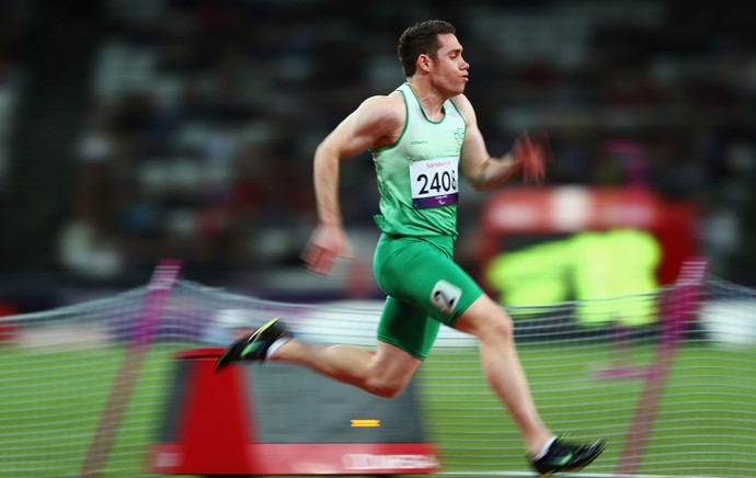 Jason Smyth londres 2012 (Foto: Getty Images)