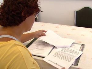 Comerciante pagou a taxa de corretagem em um apartamento em Araraquara (Foto: Paulo Chiari / EPTV)