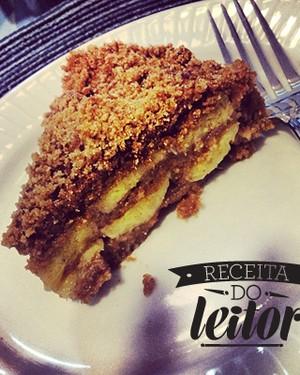 Torta integral de banana com especiarias (Foto:  )