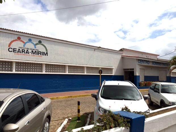 Centro Administrativo de Ceará-Mirim (Foto: Fernanda Zauli/G1)
