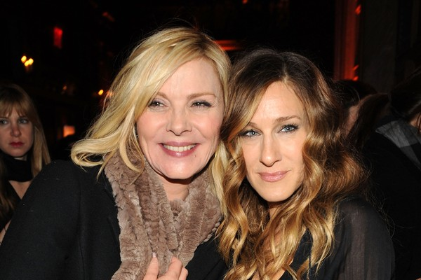 As atrizes Sarah Jessica Parker e Kim Cattrall (Foto: Getty Images)