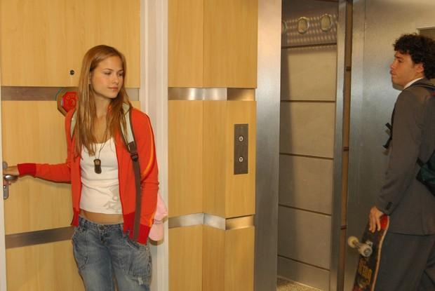 Luiza considera que a novela foi uma escola (Foto: Willian Andrade/TV Globo)