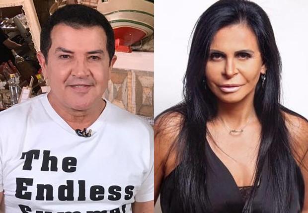 Beto Barbosa e Gretchen (Foto: Divulgação/RedeTV! e Reprodução/Instagram)