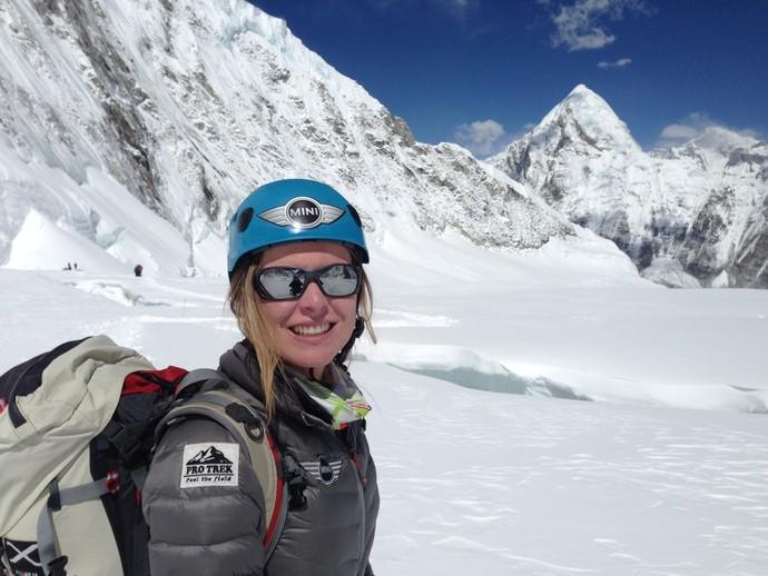 Karina Oliani Everest (Foto: Divulgação)