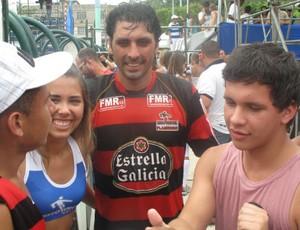 Athirson, jogador de showbol do Flamengo (Foto: Flávio Dilascio/SporTV.com)
