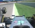 Há um culpado maior pelo acidente da Mercedes na Espanha: Nico Rosberg
