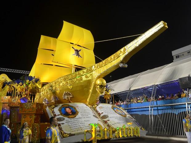 Piratas da Batucada venceu carnaval 2015 no Amapá (Foto: Abinoan Santiago/G1)