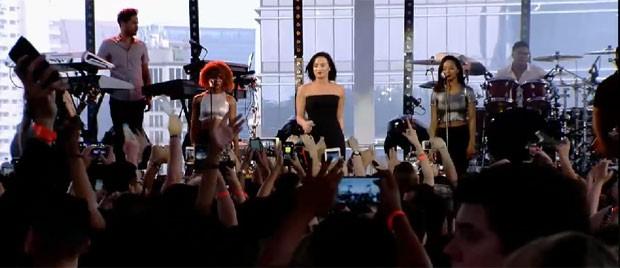 Demi Lovato faz show em São Paulo (Foto: Reprodução/Vevo)