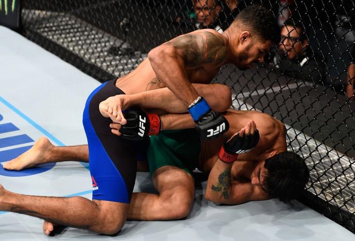 Max Griffin Erick Montaño UFC México 3 (Foto: Getty Images)