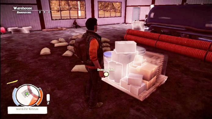Procure estar ao lado de armazéns onde é fácil achar materiais (Foto: Reprodução)