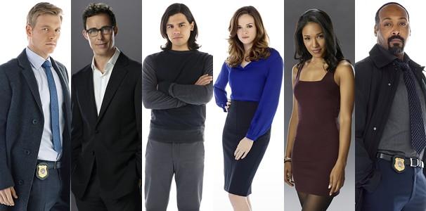 Os personagens secundários de Flash, série que estreia na Globo na segunda, dia 29 de junho (Foto: Divulgação)